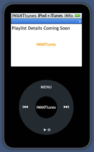 iWANTtunes - iPods + iTunes iNformation + iPod Speakers and Accessories